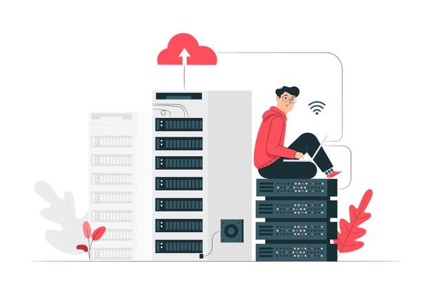 illustrazione-di-concetto-di-cloud-hosting_114360-730